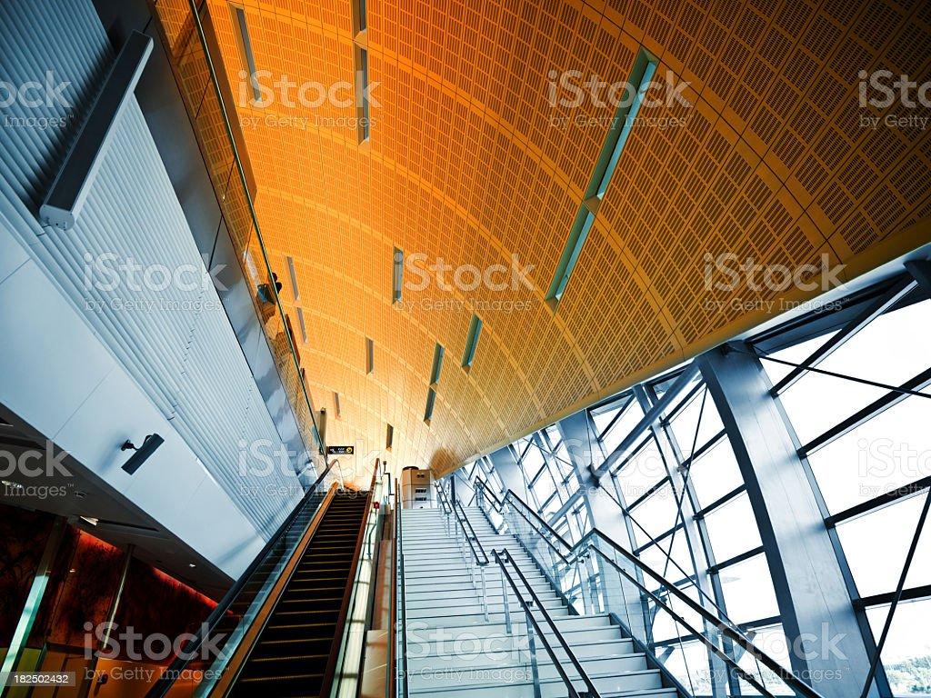 Modern Metro Station stock photo