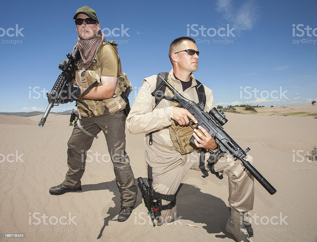 Modern Military stock photo