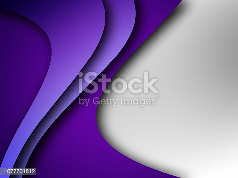 istock Modern Minimal Abstract Background Graphic 1077701812
