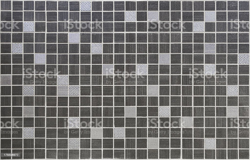 modern mosaic tiles royalty-free stock photo