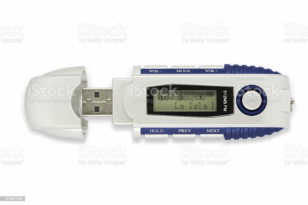Moderne audio-player MP3-USB-SCHLÜSSEL EIN – Foto