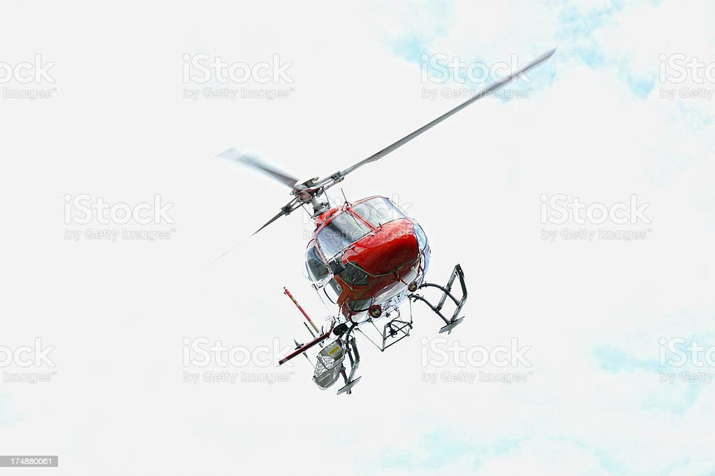 Modern Multi-purpose Helicopter royalty-free stock photo
