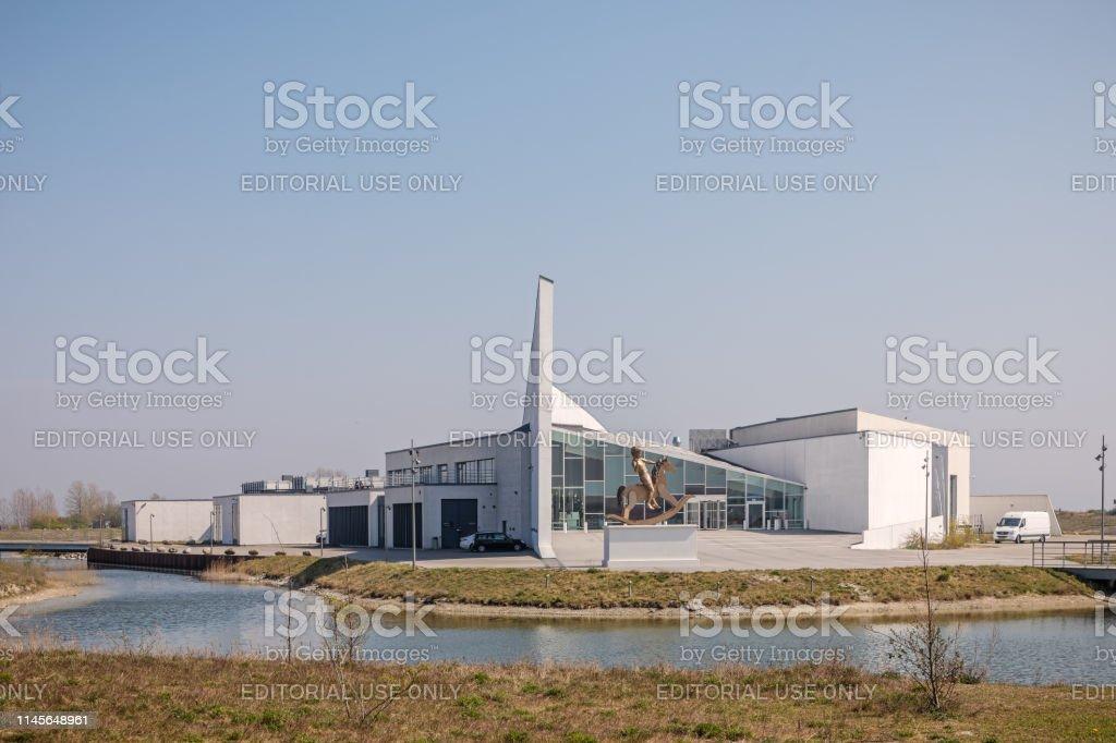 Arken - Museum of Contemporary Art, Ishøj, Denmark - April 25, 2019:...