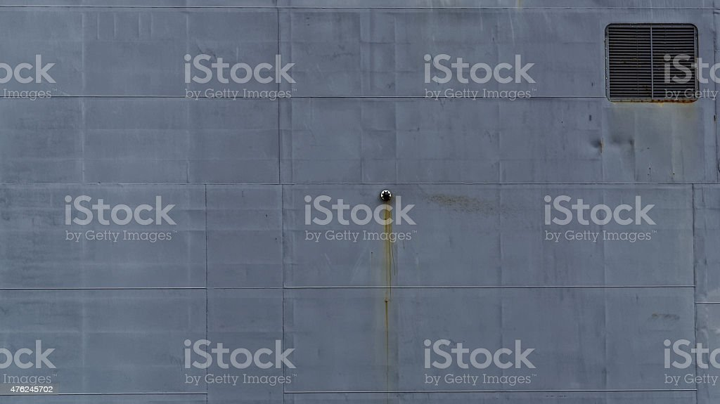Modern navy ship hull texture stock photo