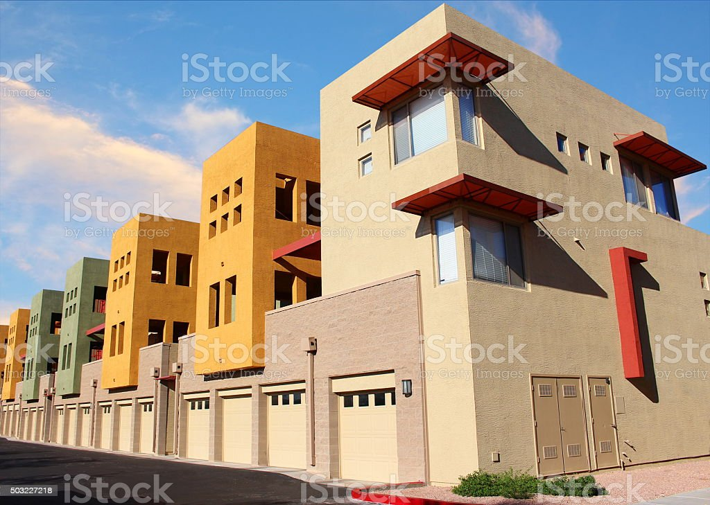 Modern new Apartment stock photo