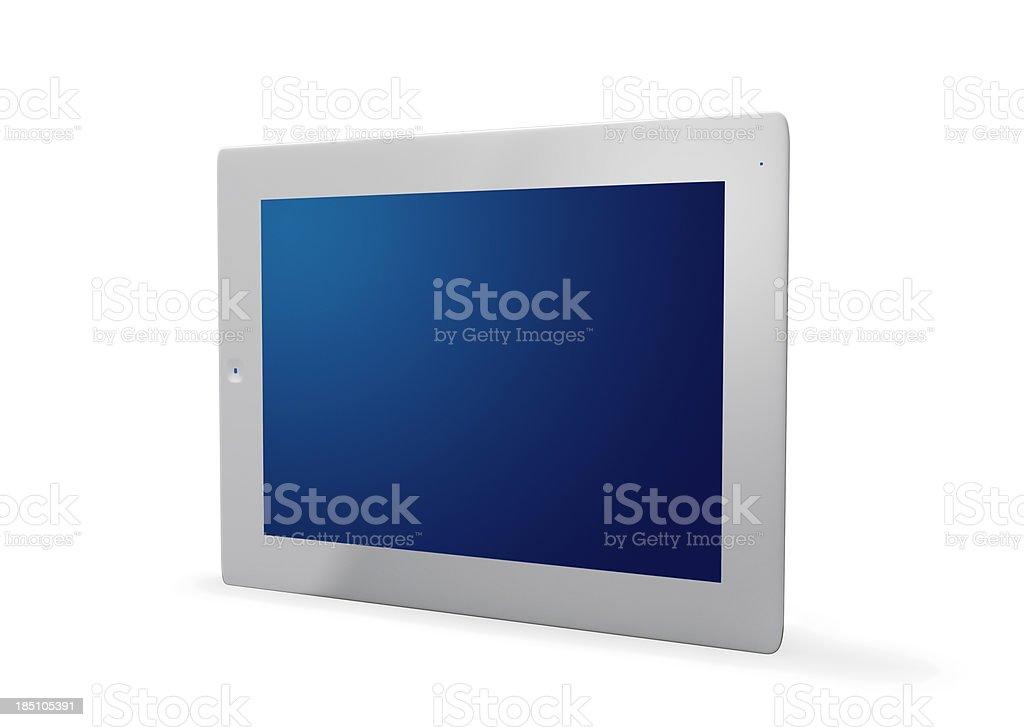 Modern new digital tablet stock photo