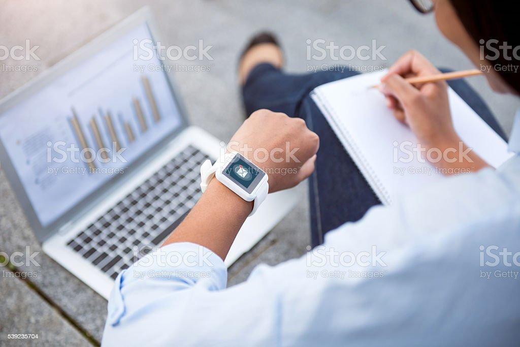 Modern new technologies royalty-free stock photo