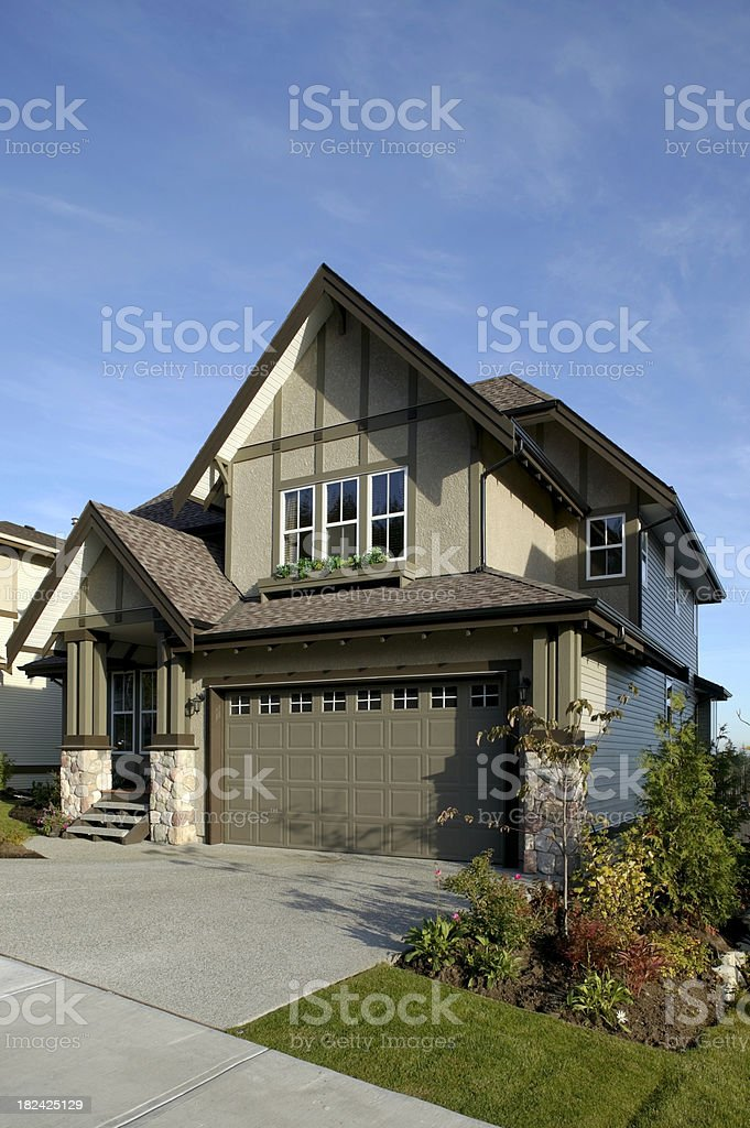 Modern New Urban Home Building Exterior Stock Photo More Pictures