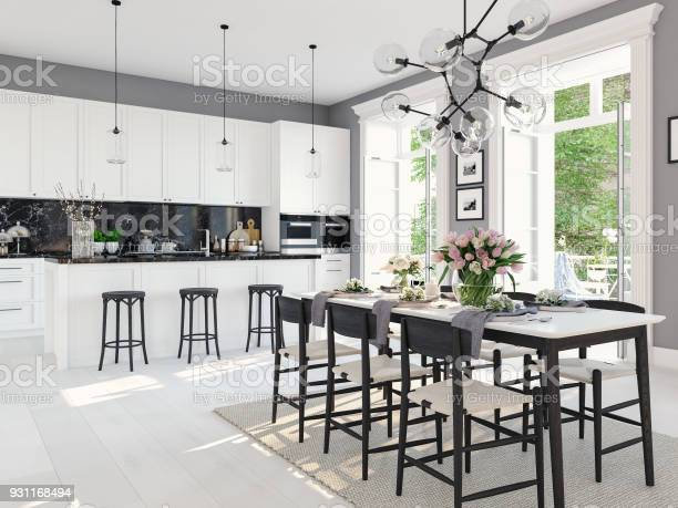 Modern nordic kitchen in loft apartment 3d rendering picture id931168494?b=1&k=6&m=931168494&s=612x612&h= vg kswmd9hcjzezgxqeukvujlg0vmv5qr6n27xeaxy=