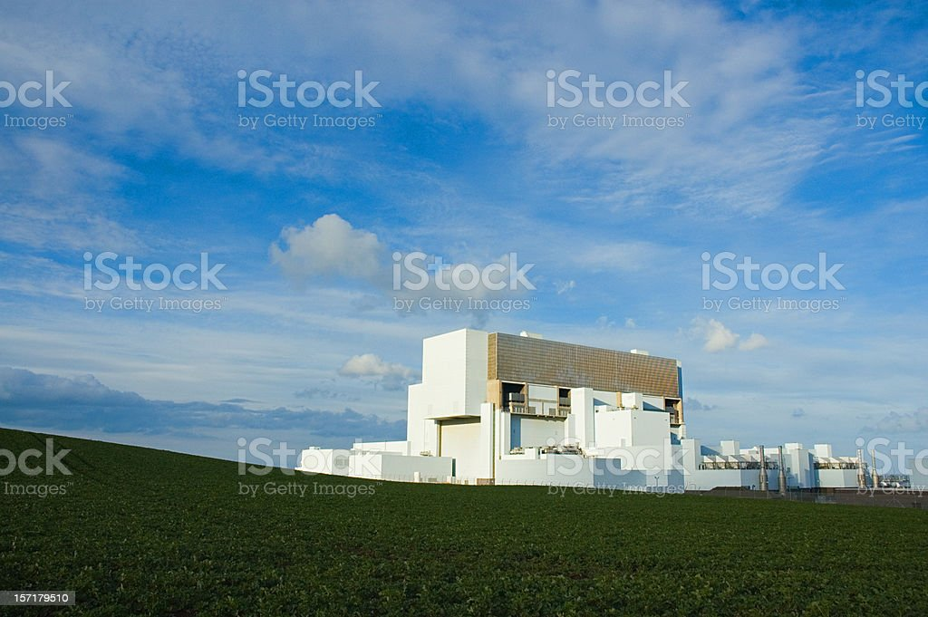 Modern Nuclear Power Series royalty-free stock photo