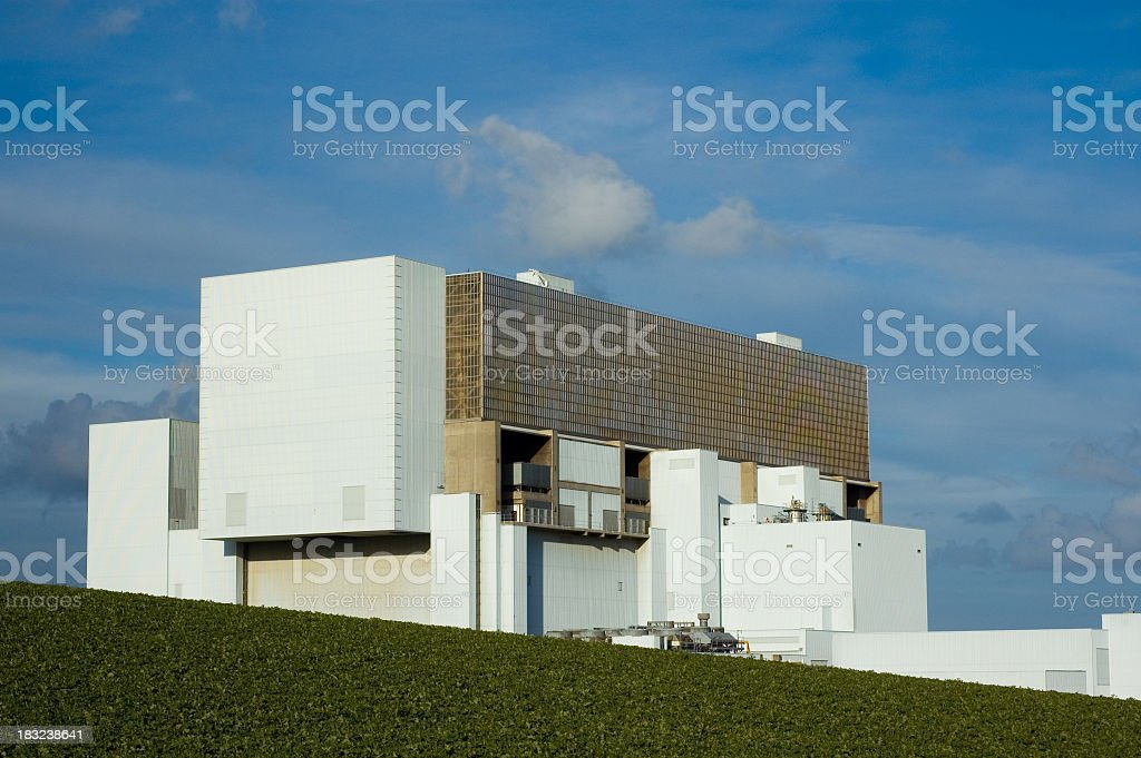 Modern Nuclear Power Station royalty-free stock photo