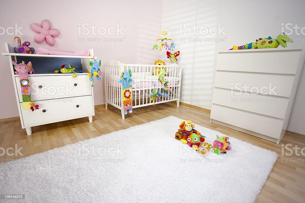Modern Nursery Room royalty-free stock photo
