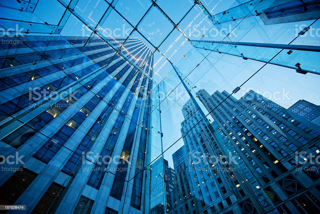 Modern NYC Architecture royalty-free stock photo