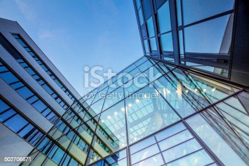 istock Modern Office Architecture, Hamburg HafenCity University 502706671