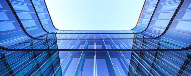 Moderne Büro Architektur panoarama 36Mpx – Foto