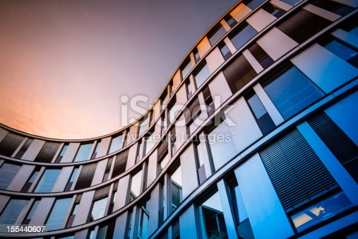 istock Modern Office Architecture 155440607