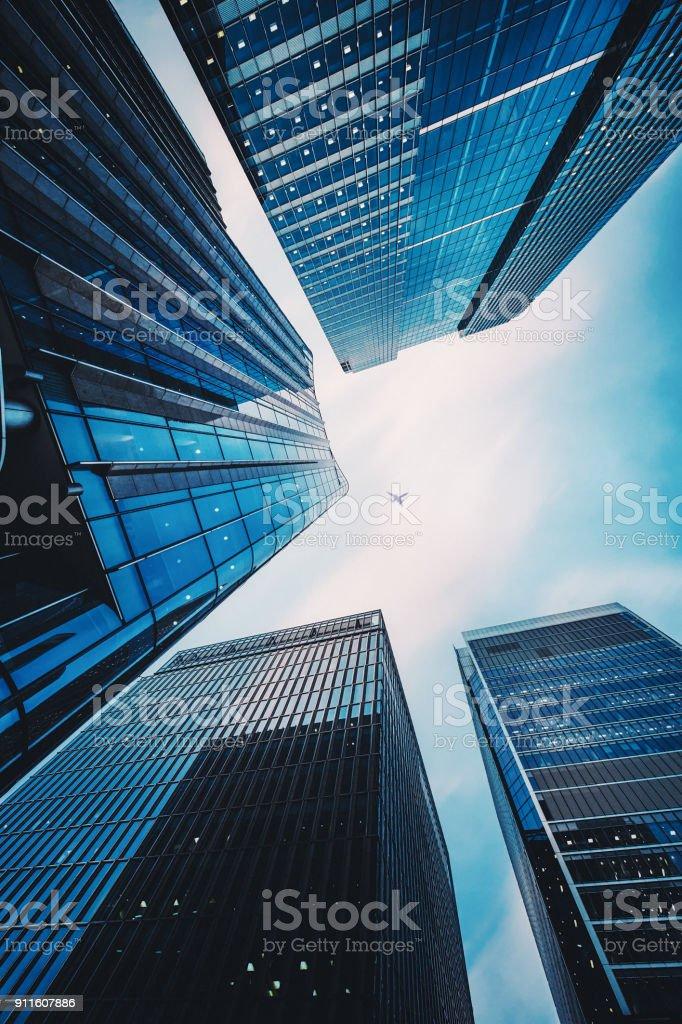 Moderne Büro Architektur – Foto
