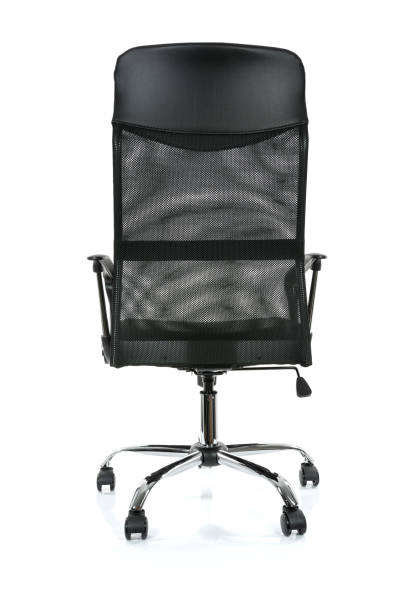 Modern office armchair stock photo