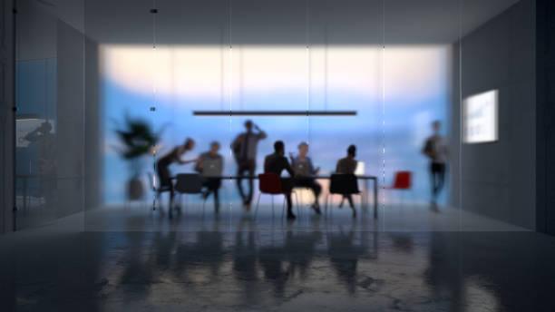 Moderner Bürohintergrund – Foto