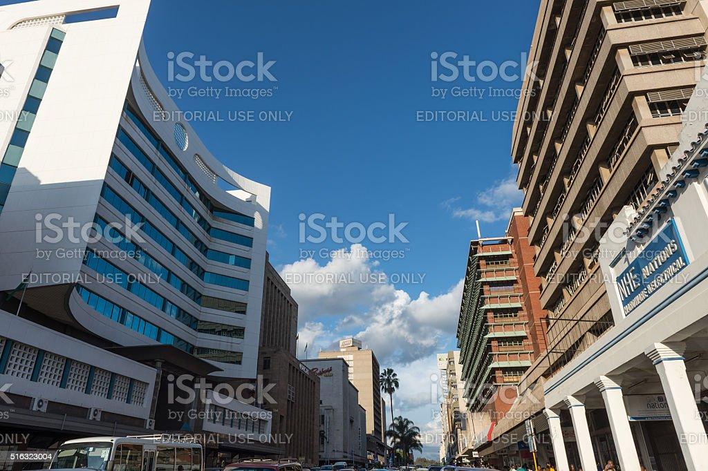 zimbabwe-ville-harare-down-town
