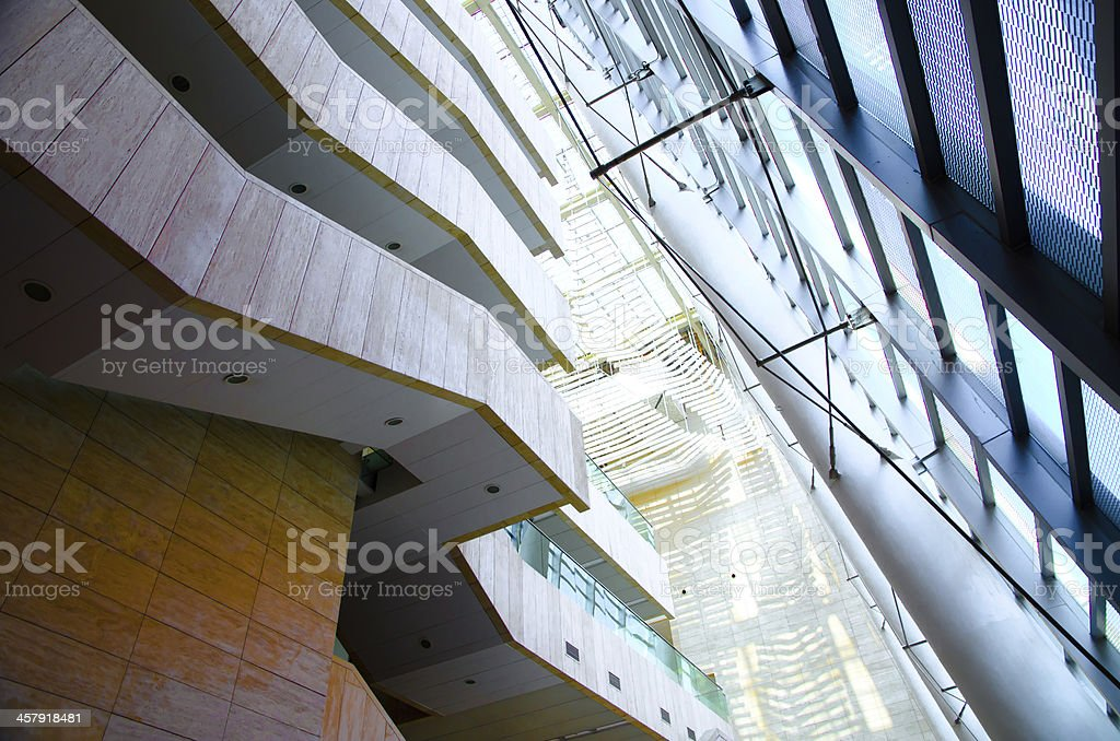modern office building architecture stair stock photo