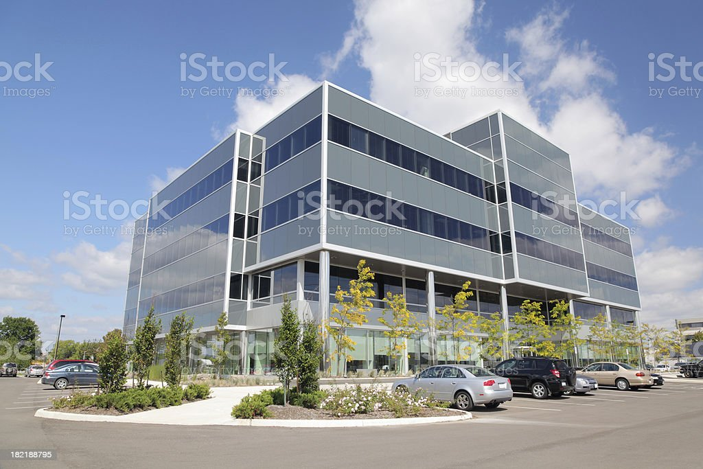 Modern Office Building Exterior stock photo