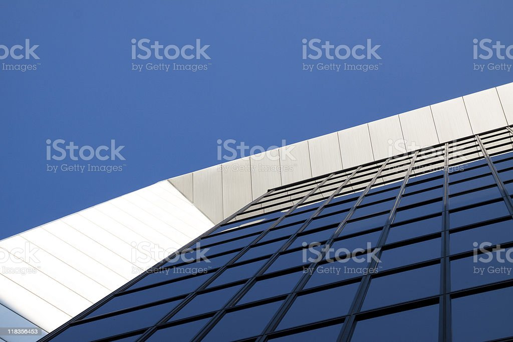Modern Office Building Facade royalty-free stock photo