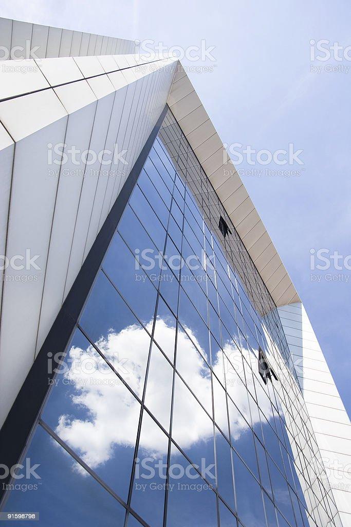 Modern Office Building Facade royalty-free stock photo
