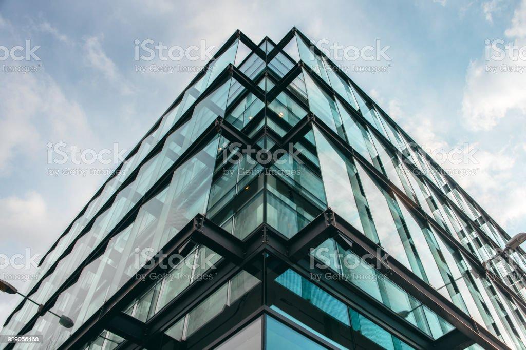 Fassade des modernen Bürogebäude – Foto