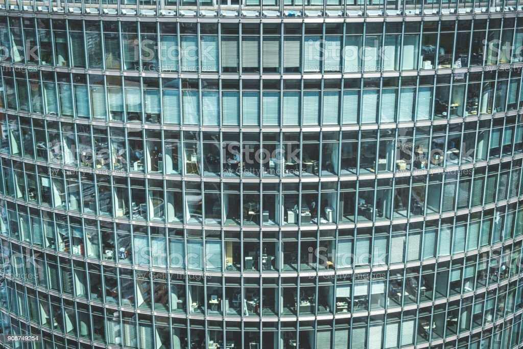 Modern Office Building Facade Skyscraper Exterior Stock Photo More