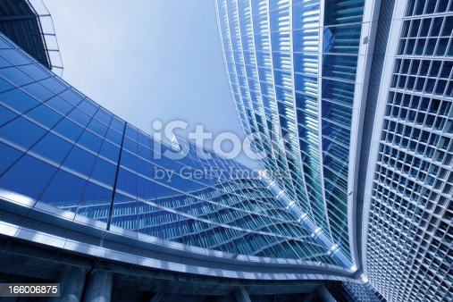 istock Modern office building in Milan 166006875