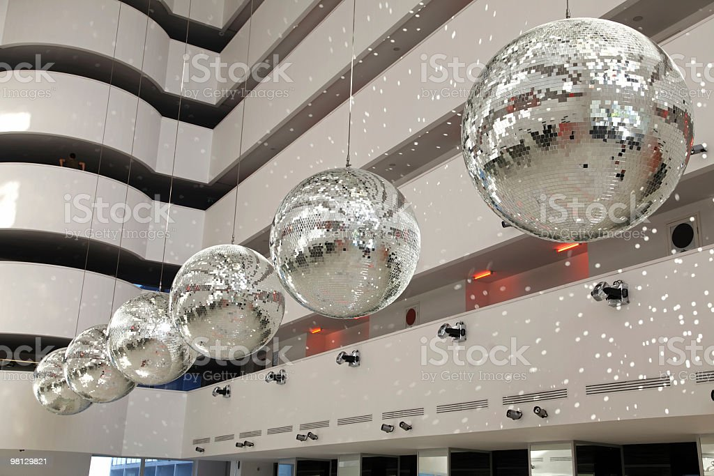 Modern office building interior royalty-free stock photo