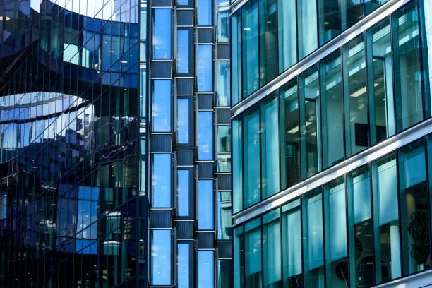 Modern Office Building, London stock photo