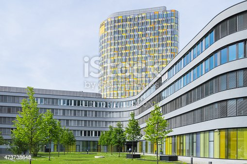 istock Modern office building of German automobile club ADAC 473738648