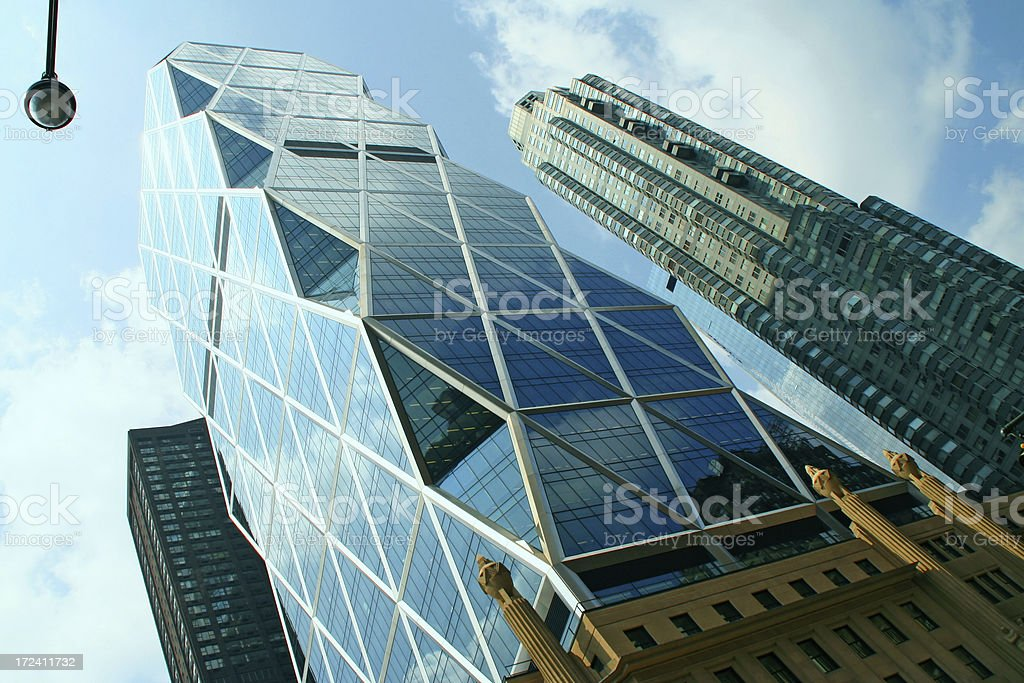 Photo de bâtiment moderne de bureau de basenew york image libre de