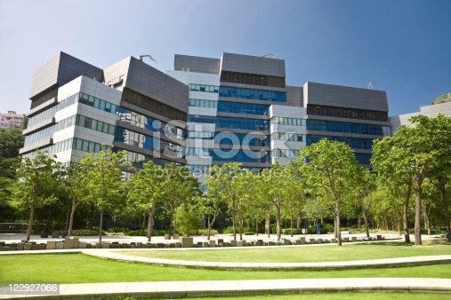 istock Modern office building 122927066