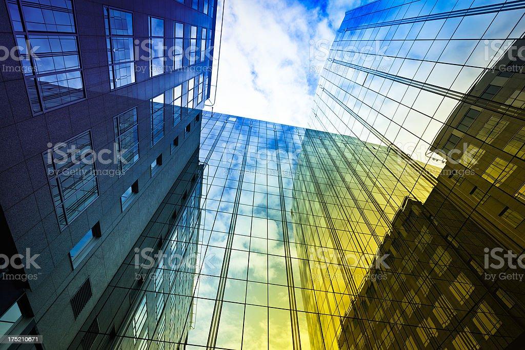 modern office building stock photo
