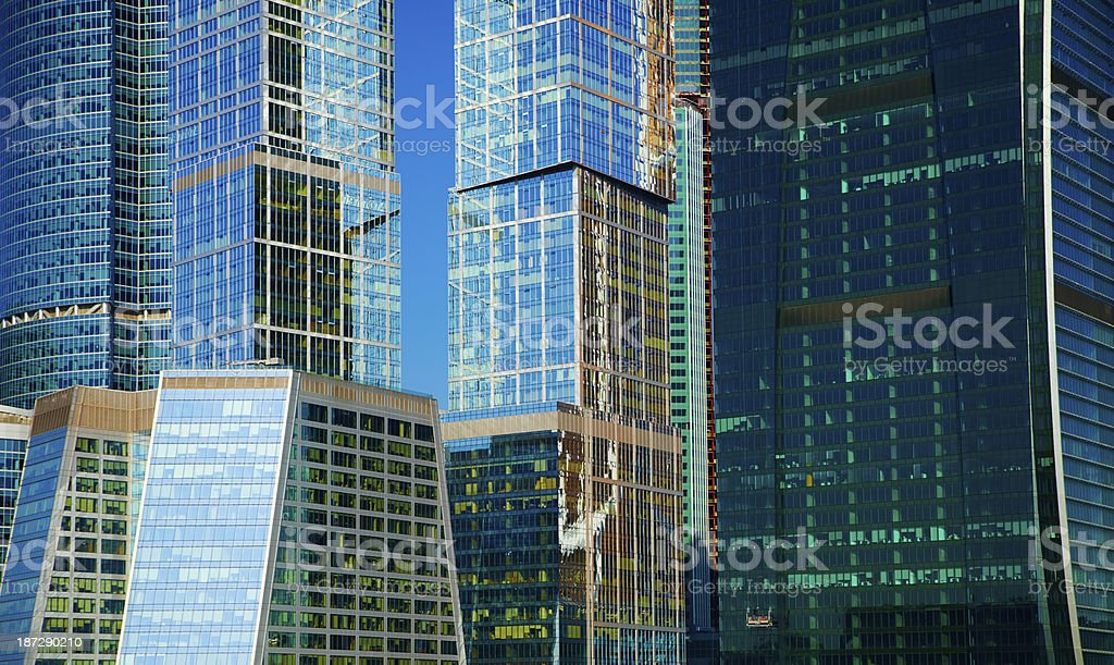 Modern office buildings. royalty-free stock photo
