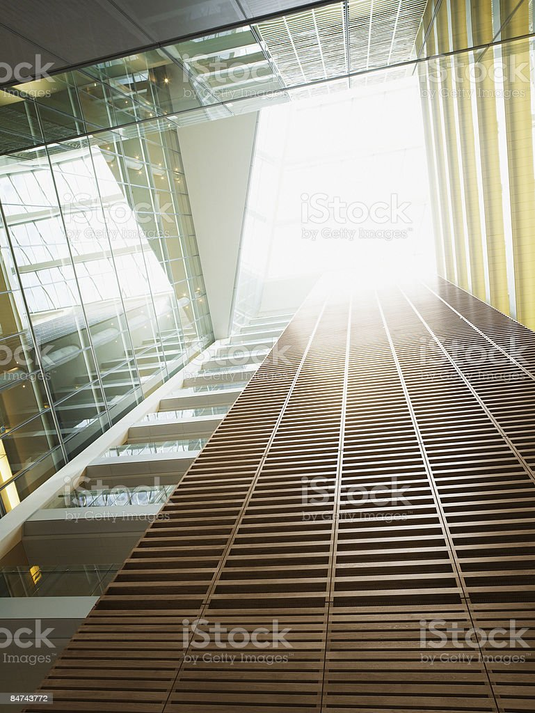 Modern office buildings stock photo