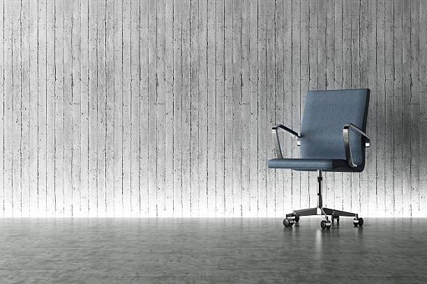 moderne büro stuhl und lichterscheinung eingerichtet - bürostuhl stock-fotos und bilder