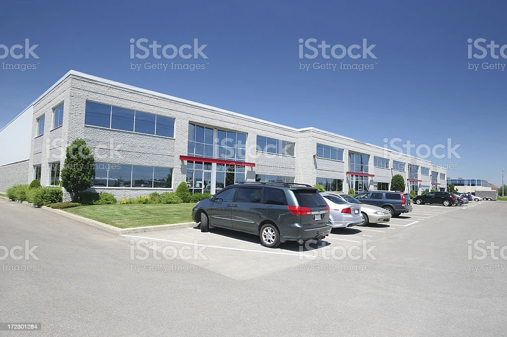 Modern Office Condo Building royalty-free stock photo
