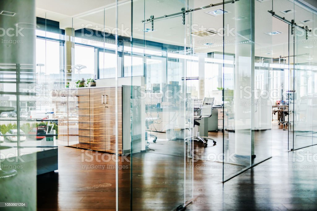 A Modern Office Environment stock photo
