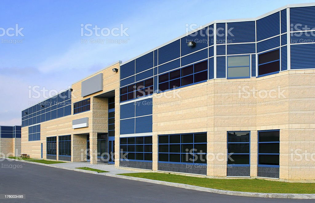 Modern Office Infrastructure royalty-free stock photo