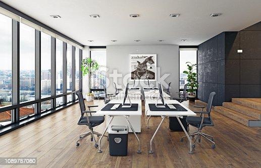 istock modern office interior. 1089787080