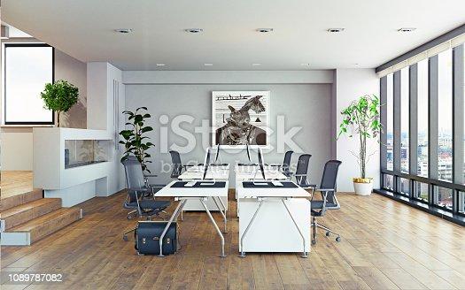 istock modern office interior. 1089787082