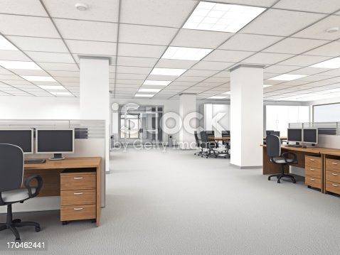 istock Modern Office Interior 170462441
