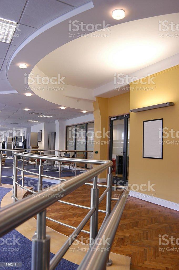 modern office interior royalty-free stock photo