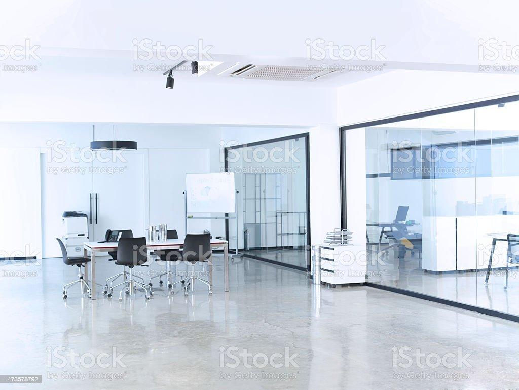 interior de la oficina moderna - foto de stock