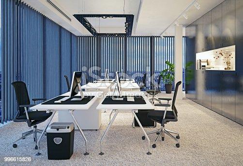istock modern office interior. 996615826