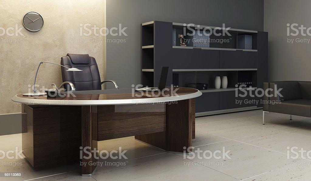A Modern Office Interior Setup 照片檔及更多住宅房間照片 Istock